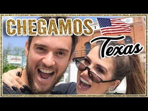O que fazer no Texas - VLOG 1 TEXAS