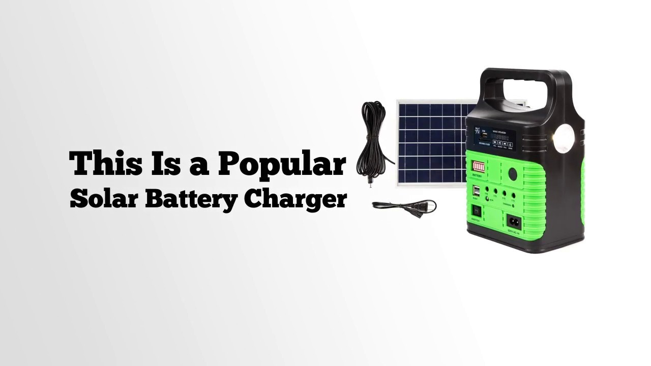 UPEOR Portable Solar Generator Lighting System Review