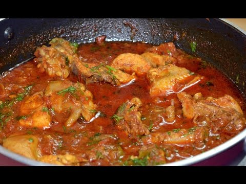 Indian Chicken Curry |Authentic Chicken curry - With Eng. Subtitles | चिकन करी |Vishakha's Kitchen
