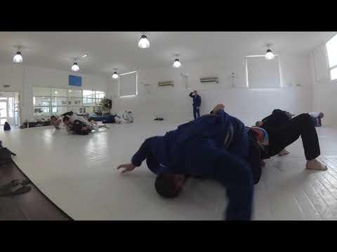 BJJ Rolling - Steven vs Marcin