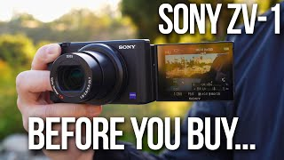 Sony ZV-1 | MOST IMPORTANT FEATURES TESTED!