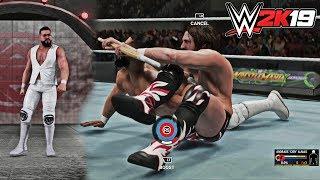 WWE 2K19 NEW OMG Moment: Kendo Stick YES! Lock (Daniel Bryan)& Andrade Cien Almas Entrance