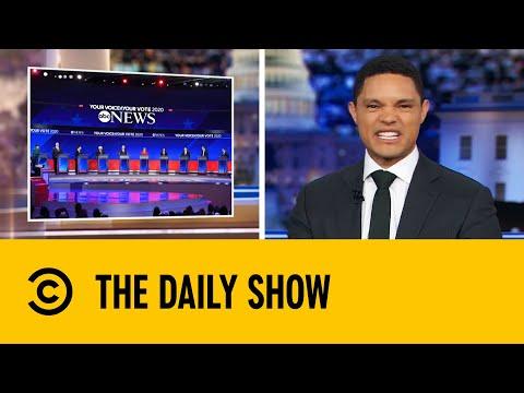 Top Ten Democratic Candidates Spar In Major Presidential Debate   The Daily Show With Trevor Noah