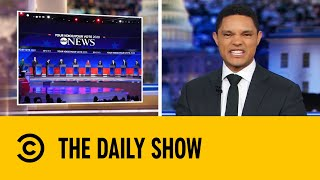 Top Ten Democratic Candidates Spar In Major Presidential Debate | The Daily Show With Trevor Noah