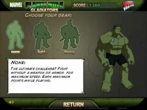 Planet Hulk Gladiators (Game Trailer) - YouTube