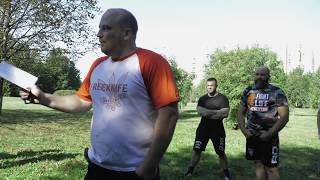 Уличная драка – основы самообороны и теория поведения: семинар Введенский Евгений