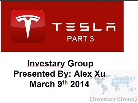 Tesla Motors (TSLA) Year 2 Stock Presentation Part 3