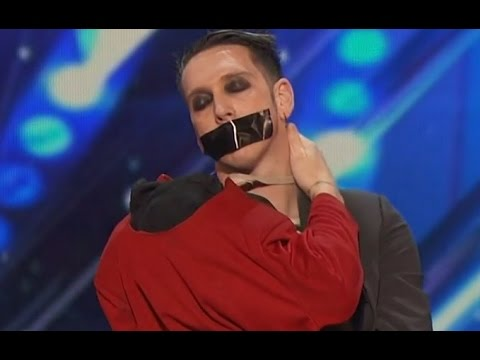 SILLIEST ACT EVER - America's Got Talent 2016 - Tape Face