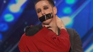Silliest Act Ever America 39 S Got Talent 2016 Tape Face
