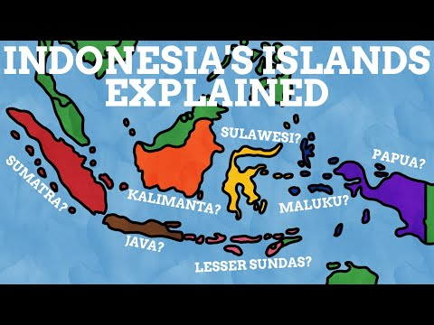 How Did The Islands Of Indonesia Get Their Names?