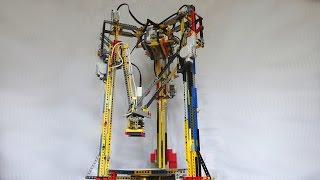 LEGO Mindstorms - Delta Robot