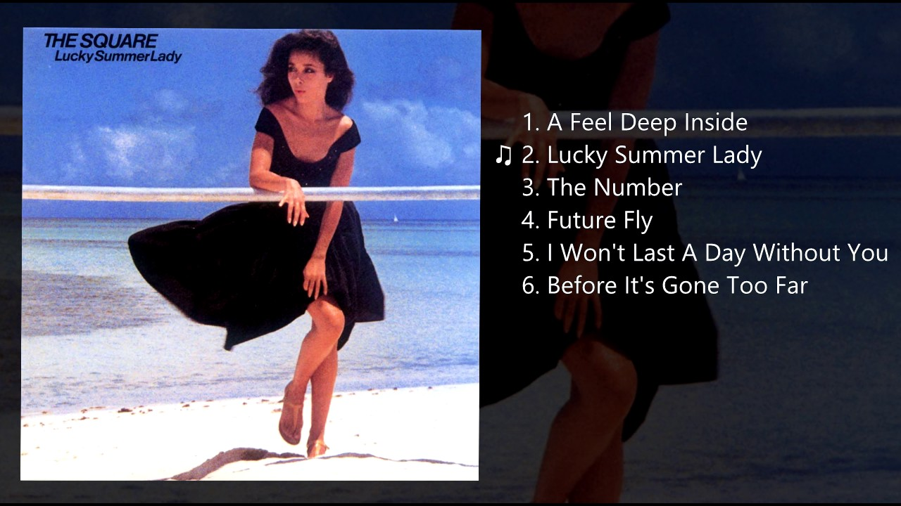T-Square - Lucky Summer Lady -...
