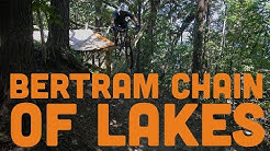 Wooden Berms, Teeter-Totters and Log Stockades at Bertram Chain of Lakes - Mountain Biking Minnesota