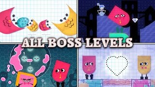 Snipperclips - All Star Levels (No Fails)