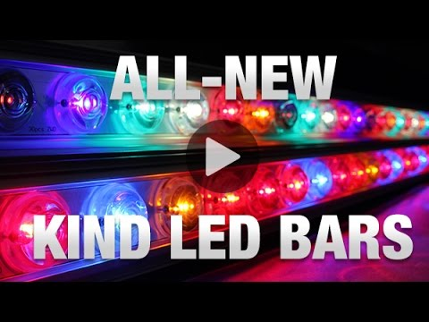 Kind Led Grow Light Bars Hydrobuilder Com Youtube