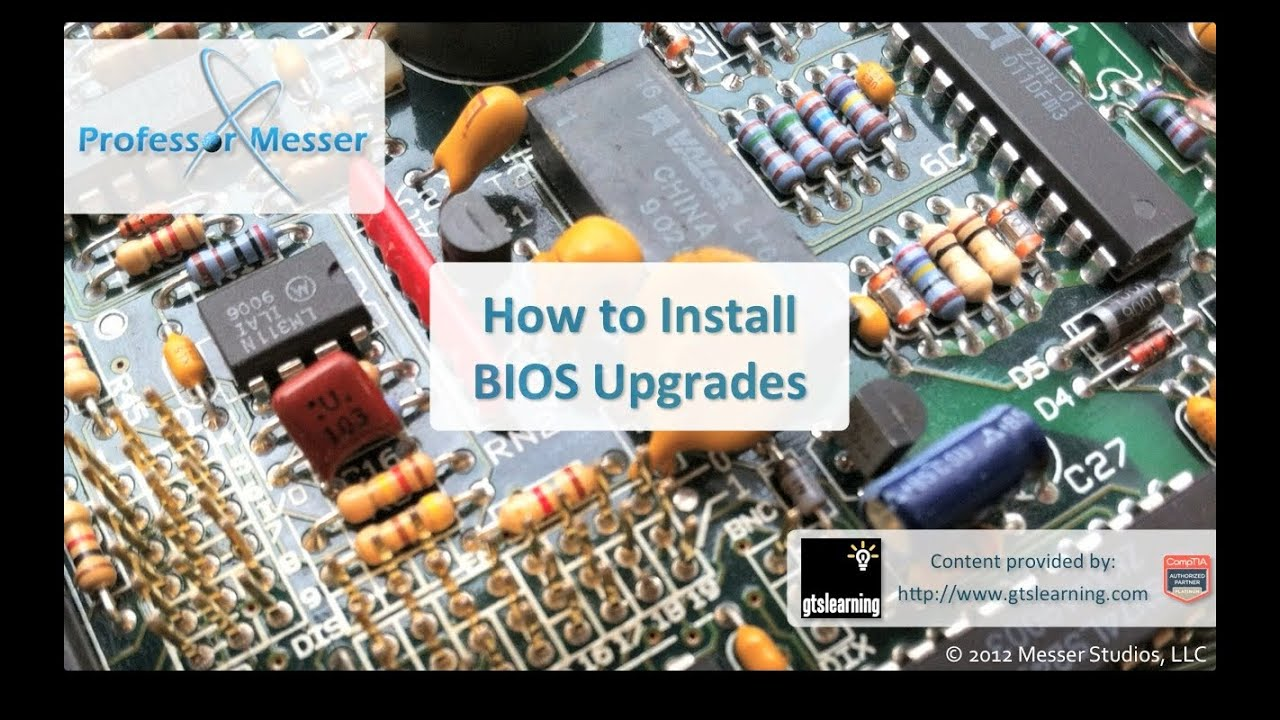 How To Install BIOS Upgrades