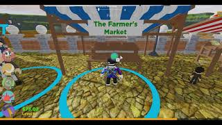 CARROT HARVEST!!! #3 (Roblox Farm Game)