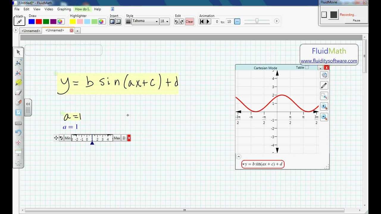 Smartboard Math Software For Algebra Teachers Youtube