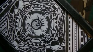 Polynesian Tattoo Design + Maori and Samoan styles  [Speed Drawing]