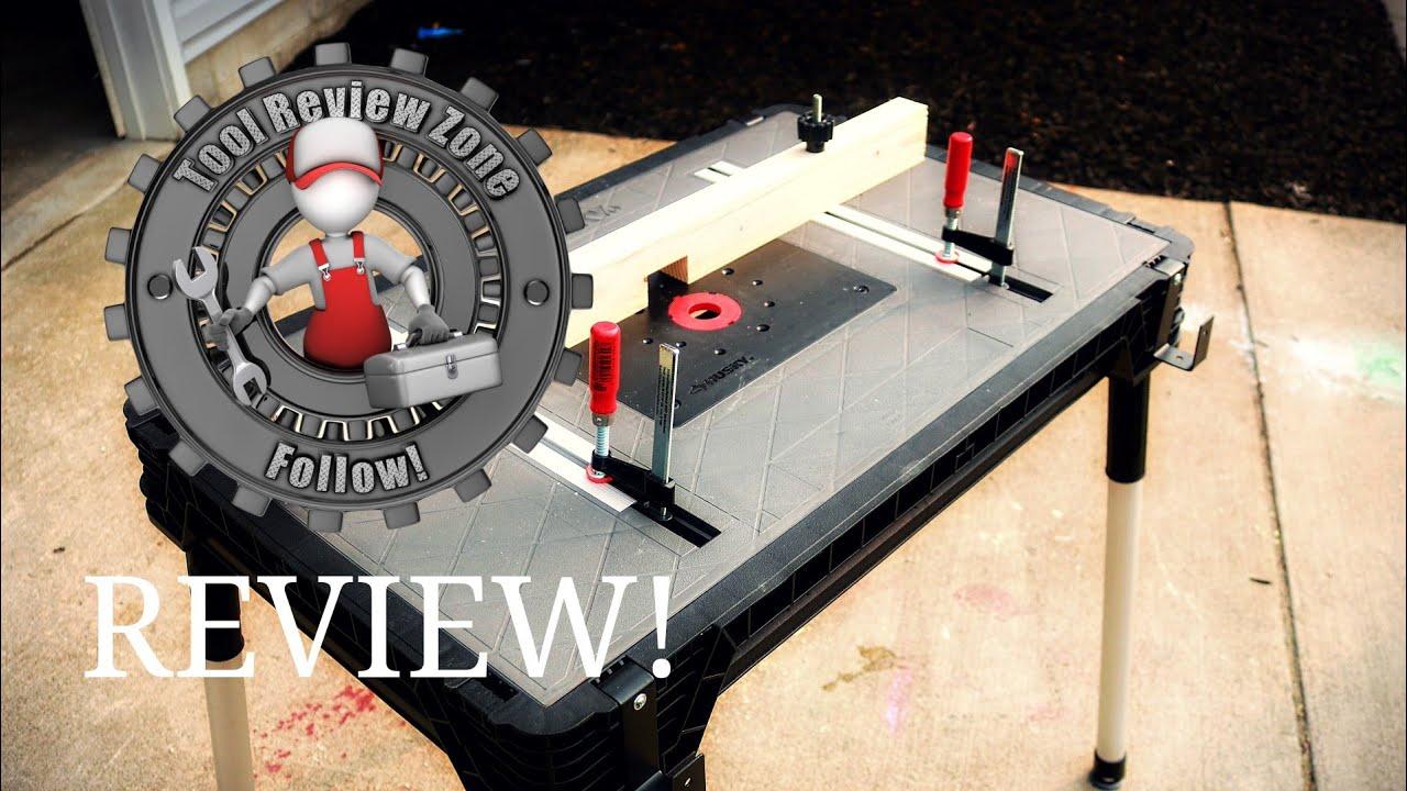 Husky Portable Jobsite Workbench Review 225047