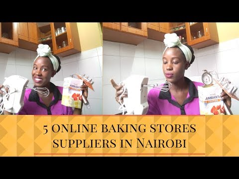 5 online baking stores suppliers in Nairobi