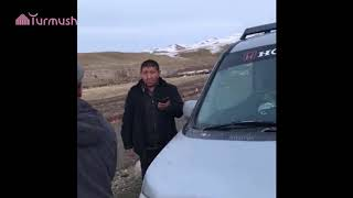 Таласта посттон Бишкектен киши ташып келе жаткан айдоочу обсервацияга алынды
