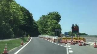 約40年ぶりの神居古潭旧国道を通る