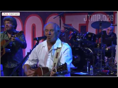 "Boston Strong - Jimmy Buffett & JT - ""Mexico"" ""Changes in Latitudes"" - LIVE"