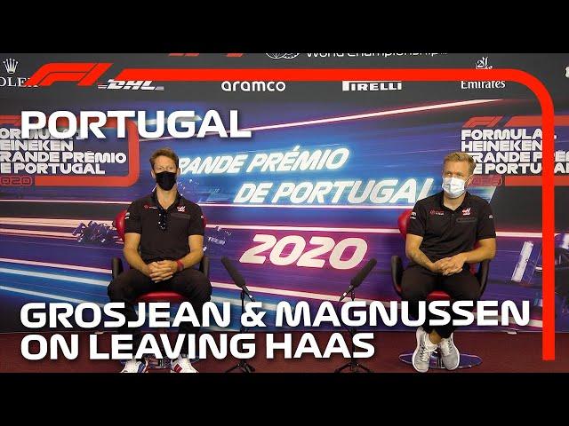 Grosjean And Magnussen's Full Press Conference | 2020 Portuguese Grand Prix