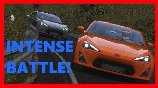 || Intense GT86 touge battle! With Artinko || Touge Life #1