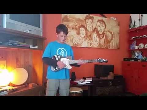 Lincolns Paper Jamz Guitar music video