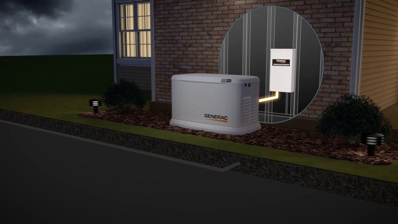 be prepared with generac standby generators reed electric heating air [ 1280 x 720 Pixel ]