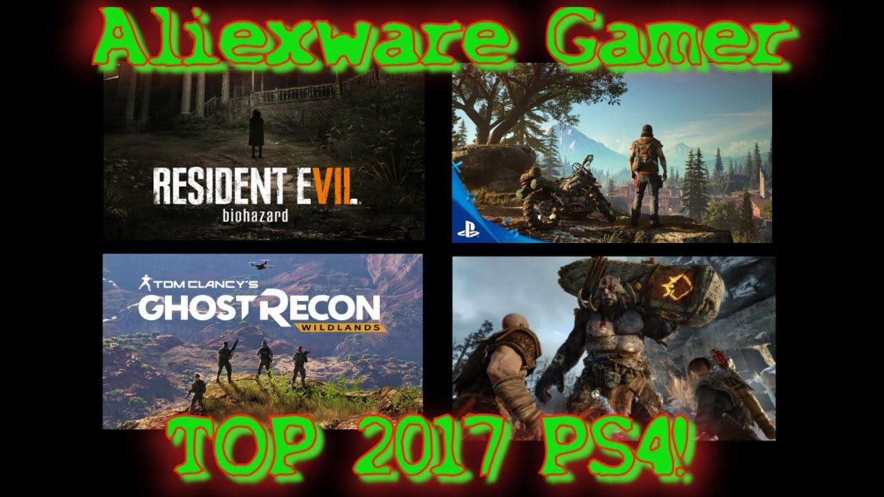 Top 7 Ps4 2017 Los Mejores Juegos Para Ps4 Youtube