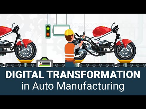 IoT in Automotive Industry - Digital transformation trends in Auto Component Manufacturing Process