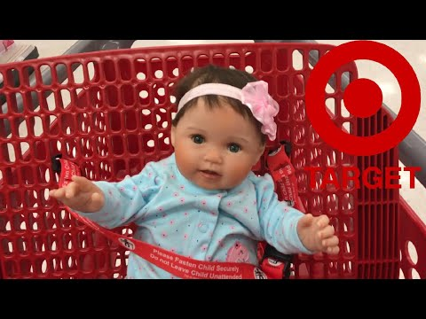 Target Outing With Our Ashton Drake Littlest Sweetheart Baby Doll