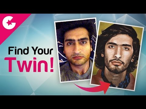 Find Your Twin With This App!!!