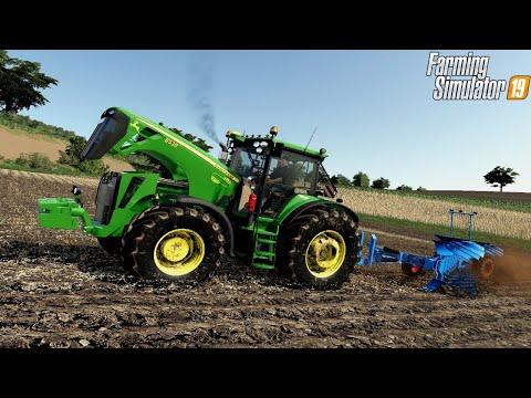John Deere 8530 At Plowing - Farming Simulator 19 | Mod Review | Simple IC | Logitech G29 Gameplay