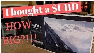 Samsung 75 inch KS9000 Series 4K SUHD