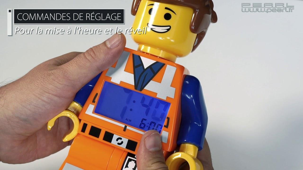 24cmpearltv Figurine Lego De Articulée Vidéo Reveil Légo Emmet 0Nnw8PymOv