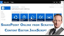 SharePoint Content Editor Web Part 4 - with JavaScript