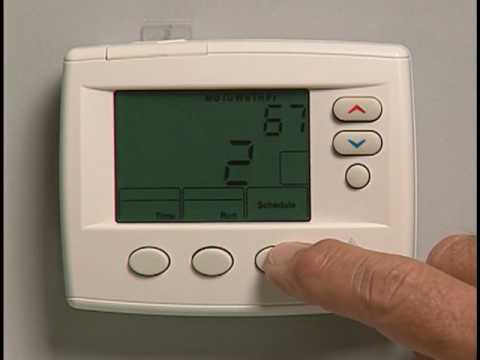 programming an emerson 1f80 thermostat youtube rh youtube com Emerson Thermostat Wiring Emerson Thermostat Manual PDF