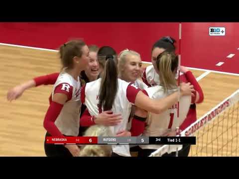 Volleyball: Nebraska Highlights - Saturday
