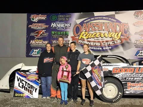 Oakshade Raceway Season Championship Night  Late Model Feature 9-14-19