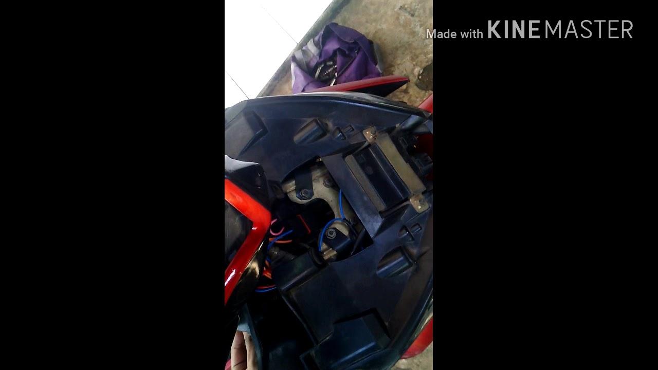 Pemasangan Klakson Denso Keong Di Jupiter Mx Youtube Motor Mocc Single