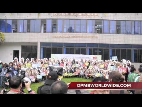 Miss International 2011 Panda Visit & Auction