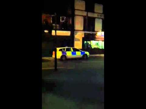 Llanrwst show. Police overkill