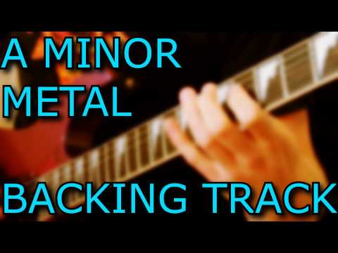 A MINOR GUITAR BACKING TRACK // METAL // METALCORE // ROCK