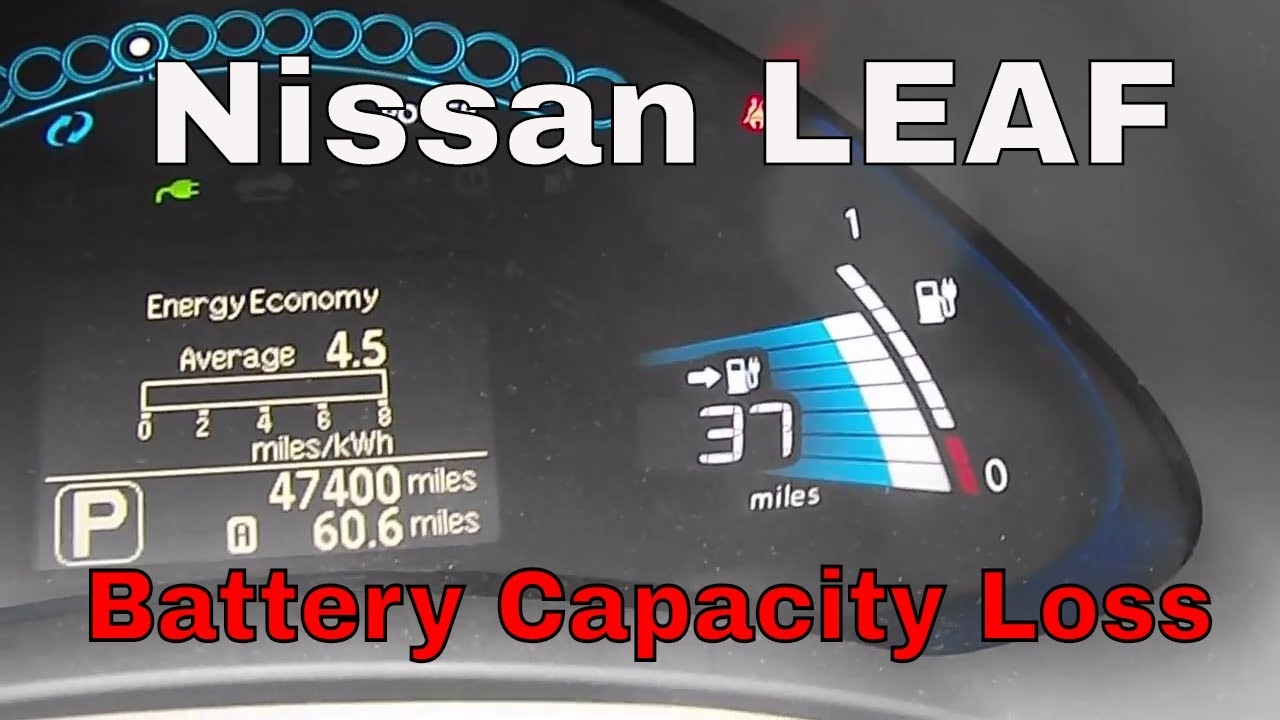 Nissan LEAF   Battery Capacity Loss   1% In Less Than 400 Miles !
