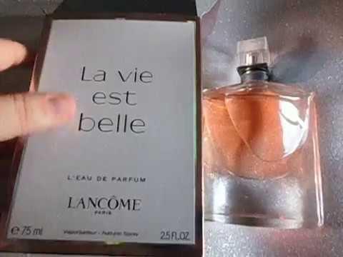 comprobar que tu perfume la vie est belle no es falsificado youtube. Black Bedroom Furniture Sets. Home Design Ideas