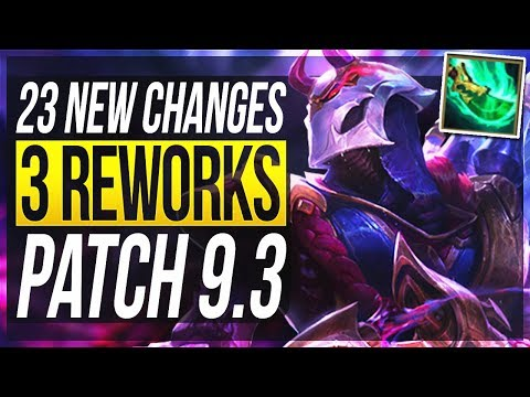 ADC REWORK IS FINALLY HERE!!! - 23 New Changes & OP Champs Patch 9.3 - League of Legends thumbnail